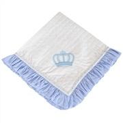 Manta Piquet Realeza Azul