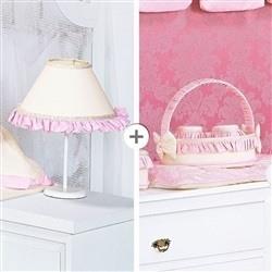 Kit Acessórios Realeza Rosa