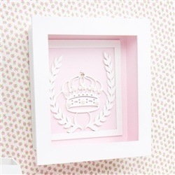 Quadro Decorativo Princesa Rosa