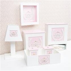 Kit Higiene Completo Princesa Rosa