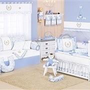 Quarto para Bebê Majestade Azul