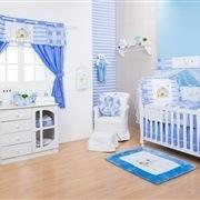 Quarto para Bebê sem Cama Babá Carinhoso
