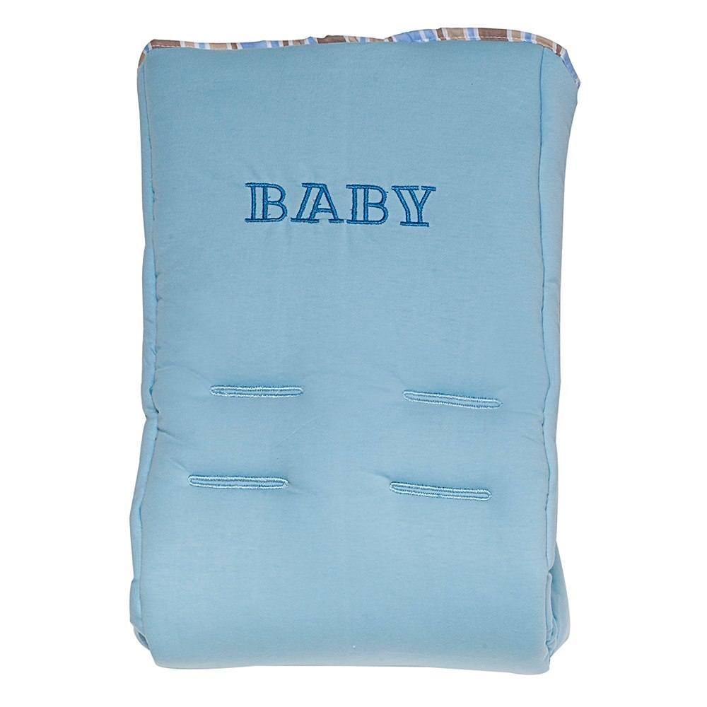 Capa de Bebê Conforto Baby Azul