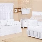 Quarto para Bebê sem Cama Babá Coroa Branca