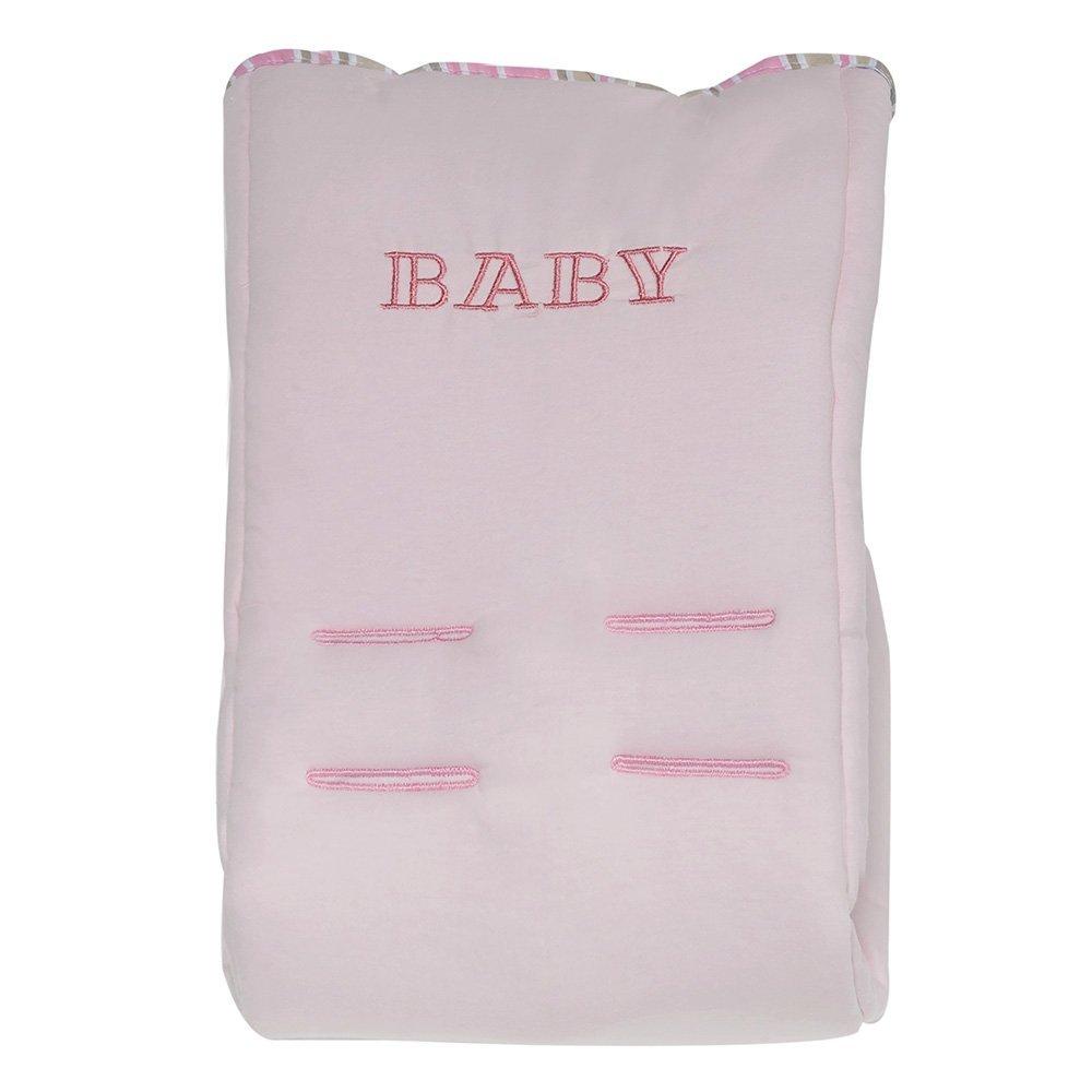 Capa de Bebê Conforto Baby Rosa