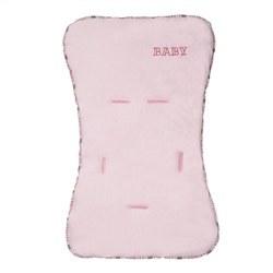 Capa de Carrinho Malha Baby Rosa