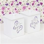 Kit Higiene Butterfly Lilás