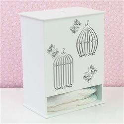 Porta Fraldas Glamour Butterfly