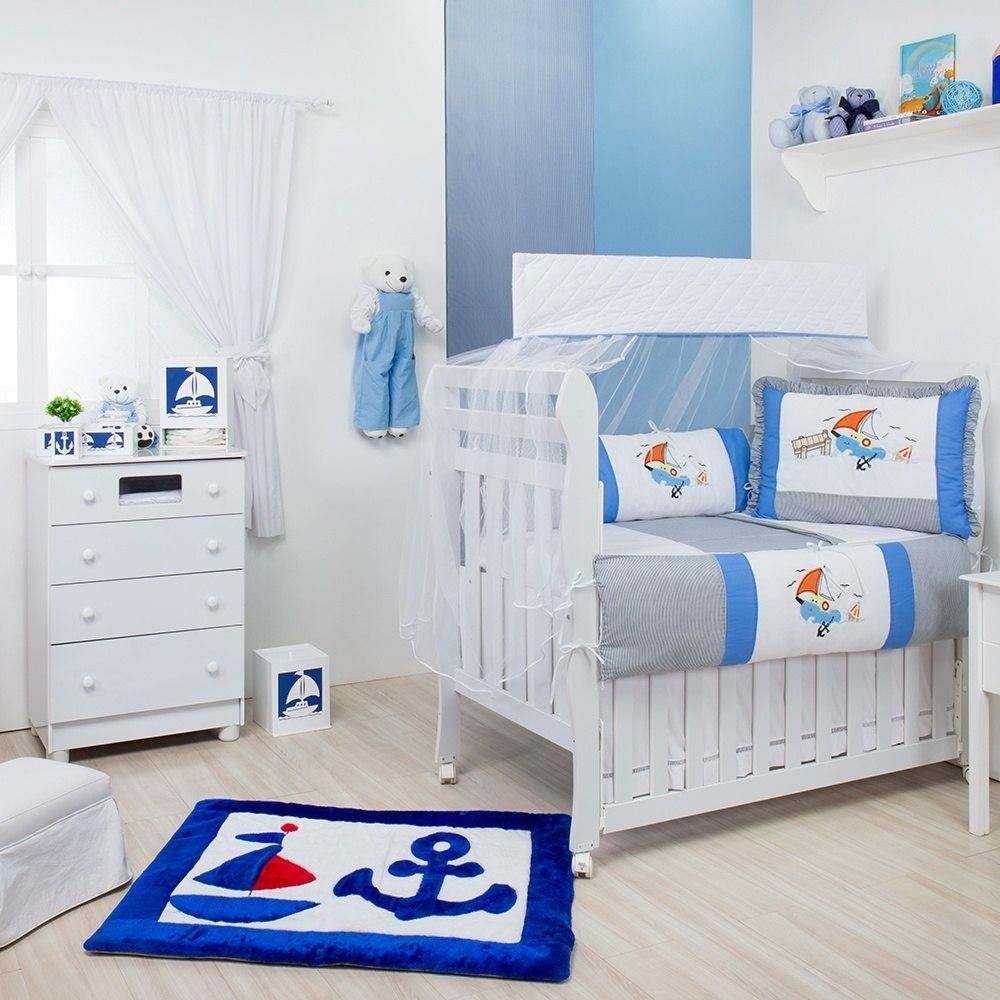 Quarto para Bebê sem Cama Babá Baby Ship