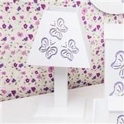 Kit Higiene Completo Butterfly Lilás