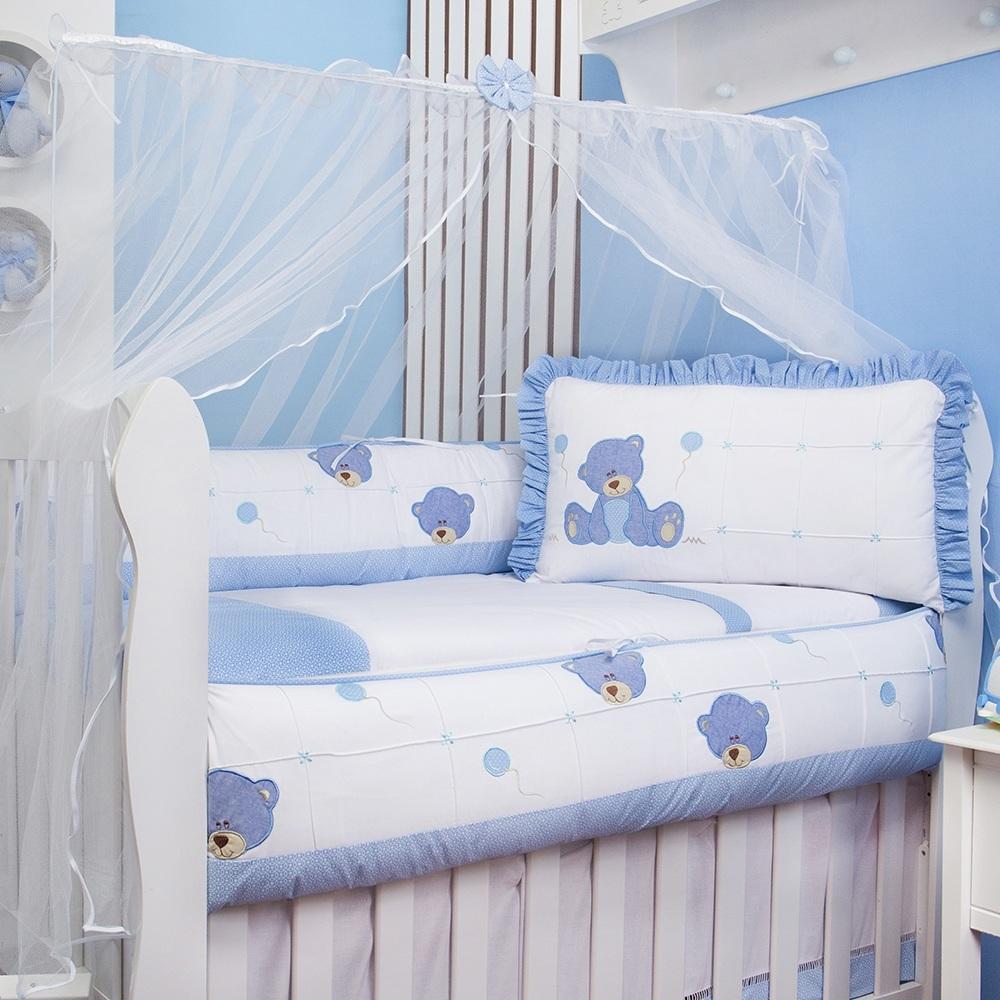 Kit Berço Ursinho Dodô Azul