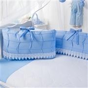 Kit Berço Luxo Azul