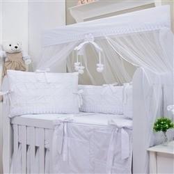 Kit Berço Luxo Branco