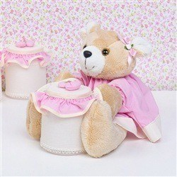 Ursa Porta Cotonete Babi