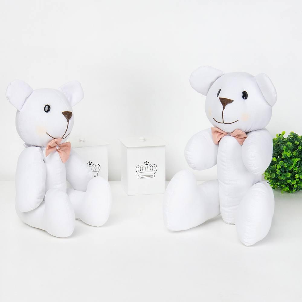 Ursos Gravata Salmão Kate