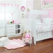 Quarto para Bebê sem Cama Babá Sonhos Floral