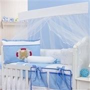 Quarto para Bebê sem Cama Babá Marinheiro Azul