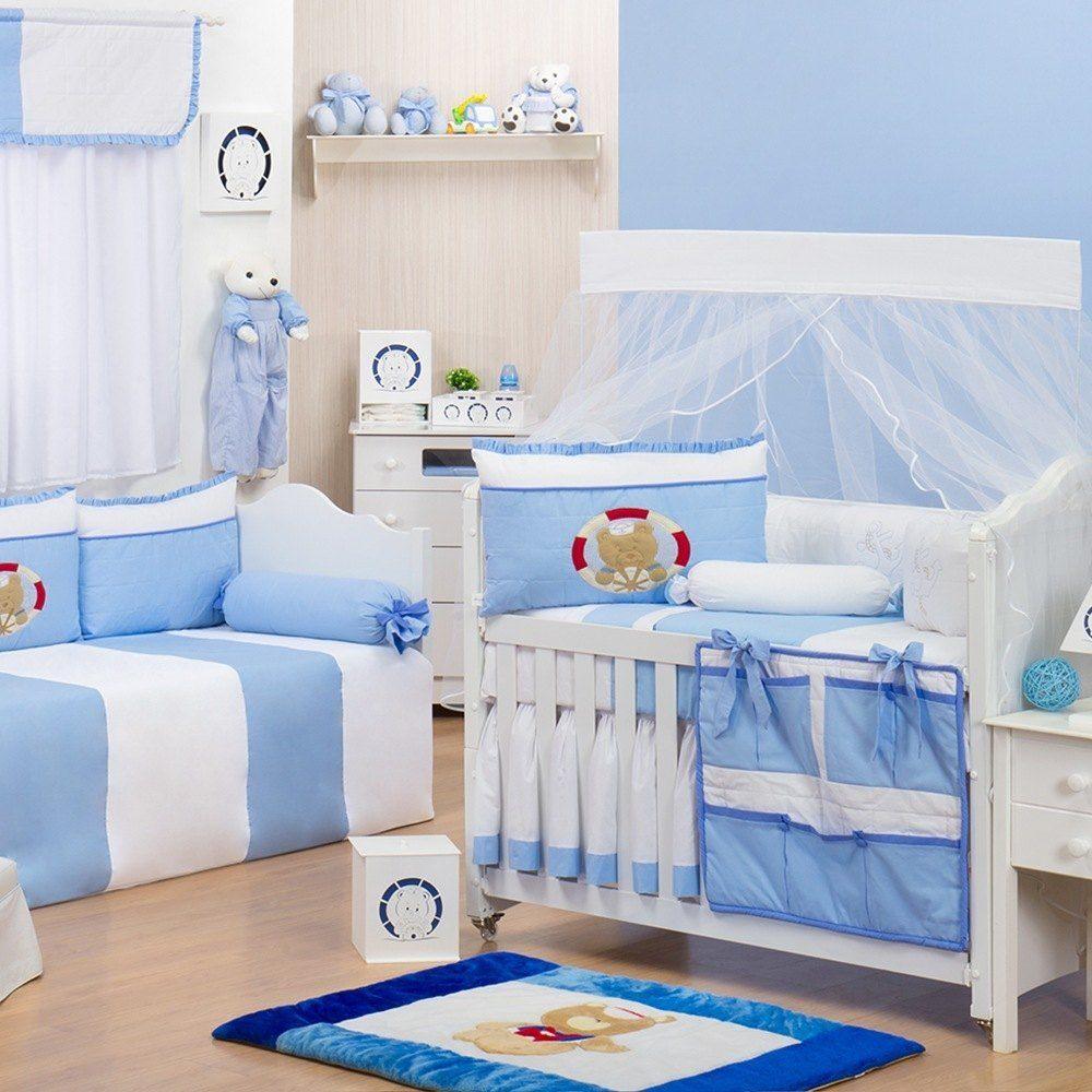 Quarto para Bebê Marinheiro Azul  Grão de Gente