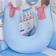Quarto para Bebê Náutico Azul