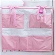 Quarto para Bebê Piquet Rosa