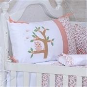Quarto para Bebê sem Cama Babá Corujinha Rosê