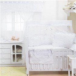 Quarto para Bebê sem Cama Babá Dengo Branco