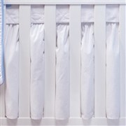 Saia para Berço Dengo Azul