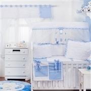 Quarto para Bebê sem Cama Babá Dengo Azul