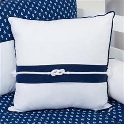 Almofada Decorativa Corda Blue Boat
