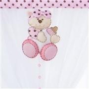 Cortina Ursa Baby Rosa