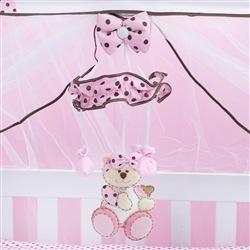 Móbile Ursa Baby Rosa
