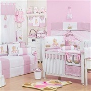 Quarto para Bebê Ursa Baby Rosa