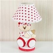 Kit Acessórios Ursa Baby Vermelha