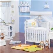 Quarto para Bebê Sem Cama Babá Selva Baby Azul