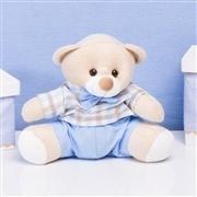 Enfeites Ursos Selva Baby Azul
