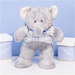 Enfeite Elefante Selva Baby Azul