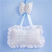 Enfeite Oração Santo Anjo Selva Baby Azul