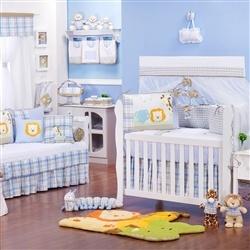 Quarto para Bebê Selva Baby Azul
