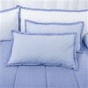Almofadas Decorativas Estampadas Sweet Bear Azul