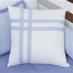 Almofada Decorativa Fitas Sweet Bear Azul