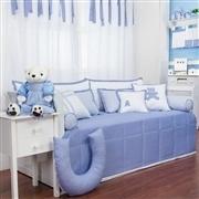 Kit Cama Babá Sweet Bear Azul