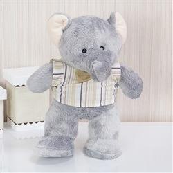 Enfeite Elefante Selva Baby Bege