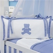 Quarto para Bebê sem Cama Babá Sweet Bear Azul