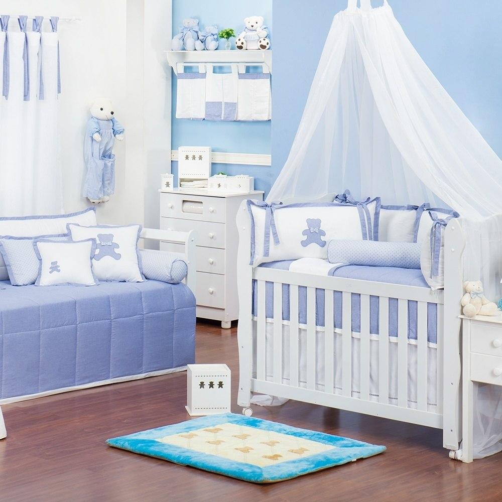 Quarto para Bebê Sweet Bear Azul