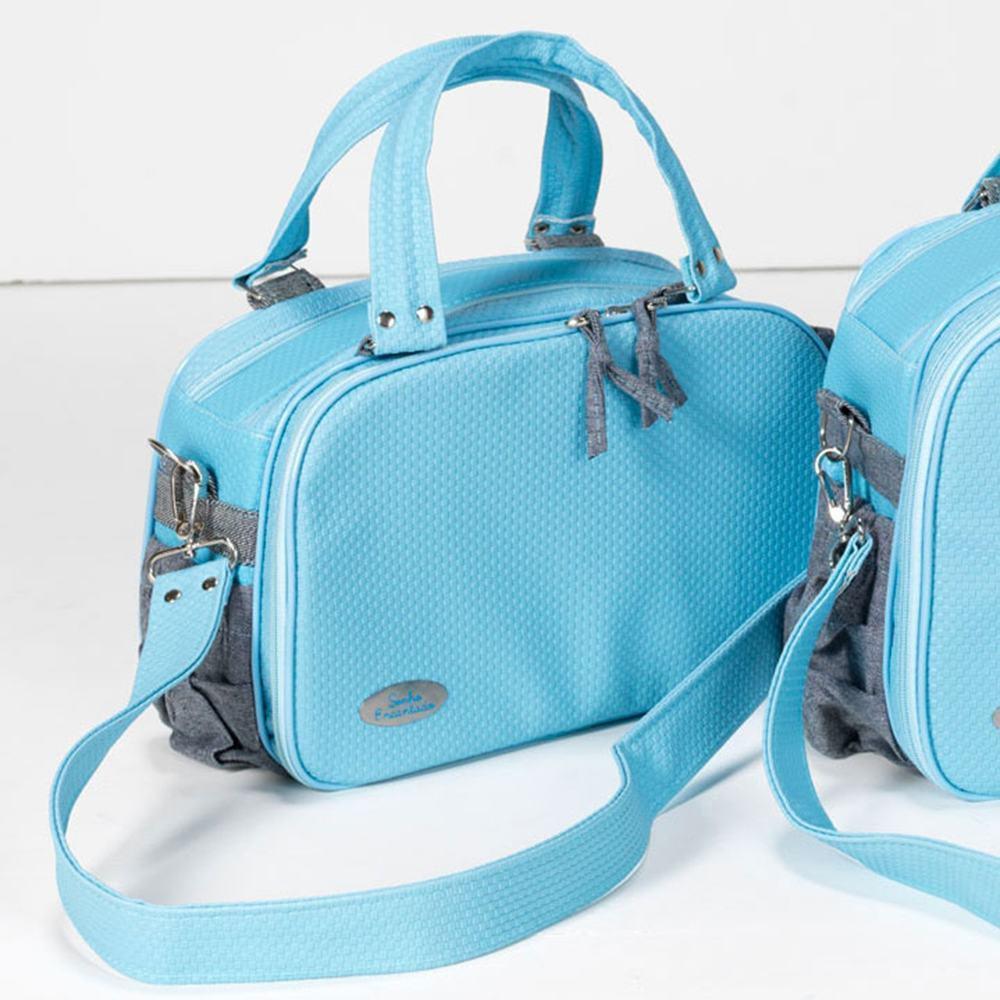 Frasqueira Maternidade Classic Azul