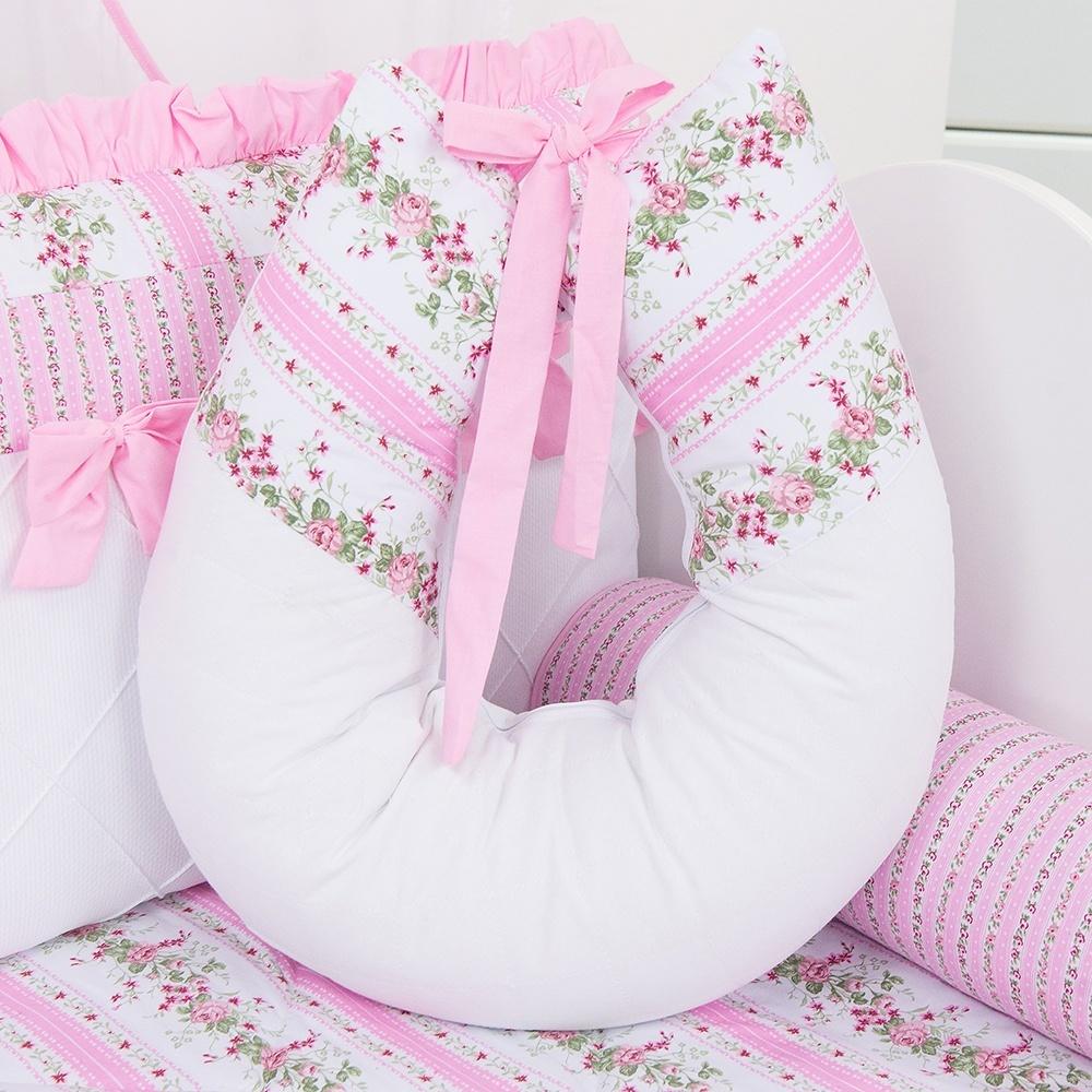 Almofada para Amamentação Princesa Charlotte Rosa