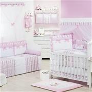 Quarto para Bebê Princesa Charlotte Rosa