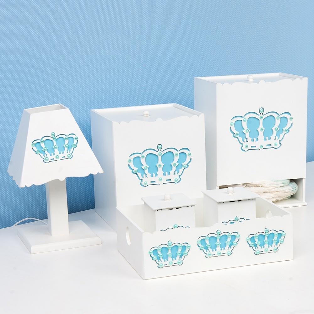 Kit Higiene Belly Coroa Azul
