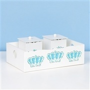 Kit Higiene Completo Belly Coroa Azul
