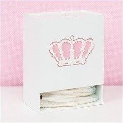 Porta Fraldas Belly Coroa Rosa